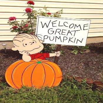 Peanuts Halloween Outdoor Decorations#decorations