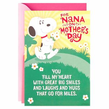 Peanuts® Snoopy Happy Dance Pop-Up Mother's Day Card for Nana Peanuts® Snoopy Happy Dance Pop-Up