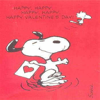 Peanuts Valentines-70's (5) -  Happy Valentines Day!  Wishing you a special day….May it be extra