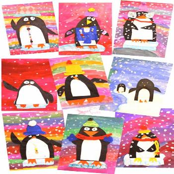 Penguin books are great non-fiction read alouds to use during Januaryand February. Here are lots