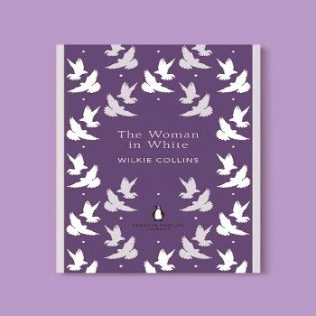 Penguin English Library - The Woman in White by Wilkie Collins. penguin books, penguin classics, en
