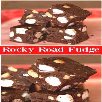Rocky Road Fudge recipe from