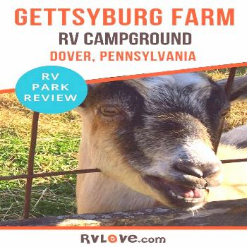 RV Camping on a Farm? Looking for a unique and memorable camping experience in Pennsylvania? Gettys