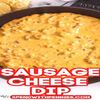 Sausage Cheese Dip {Great Party Appetizer!} – Spend With Pennies - -
