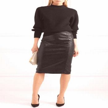 Stella McCartney | Faux leather pencil skirt  | NET-A-PORTER.COM