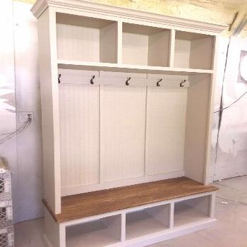 THE PENNSYLVANIA 2 section Mudroom bench#bench