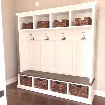 THE PENNSYLVANIA 4 section bench with storage#bench