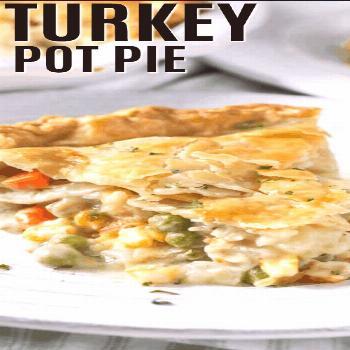 Turkey Pot Pie {Great for Leftover Turkey!} - Spend With Pennies -  Homemade turkey pot pie is an e