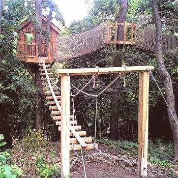 Wayne Pennsylvania Treehouse - Tree Houses by Tree Top Builders  One of the most...#builders