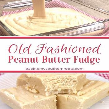 Y'all are gonna love this old fashioned fudge recipe with peanut butter. Peanut butter fudge is a