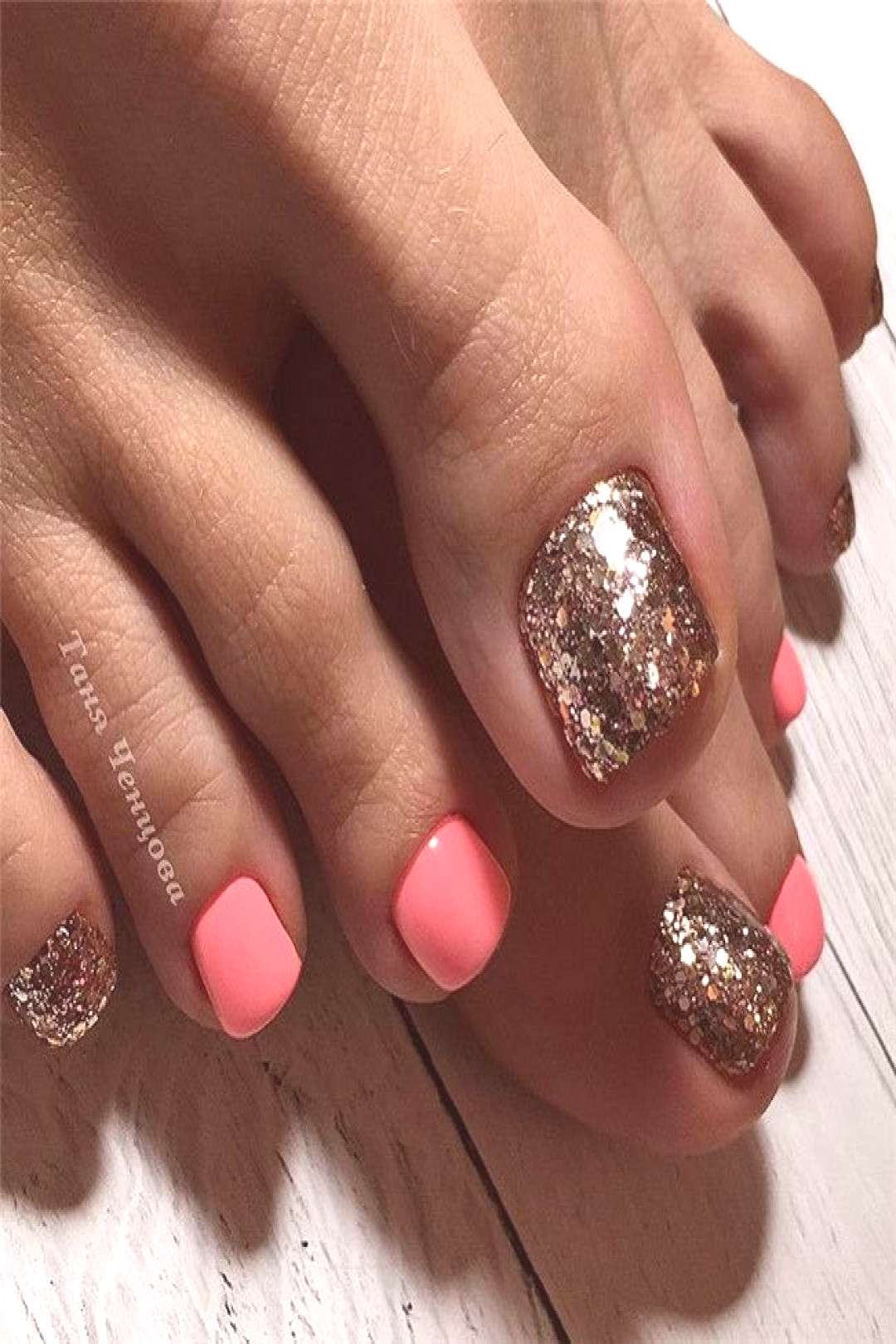 36 The Trend Toe Art Nail Designs In Summer Summer is coming, which means we can wear sandals or f