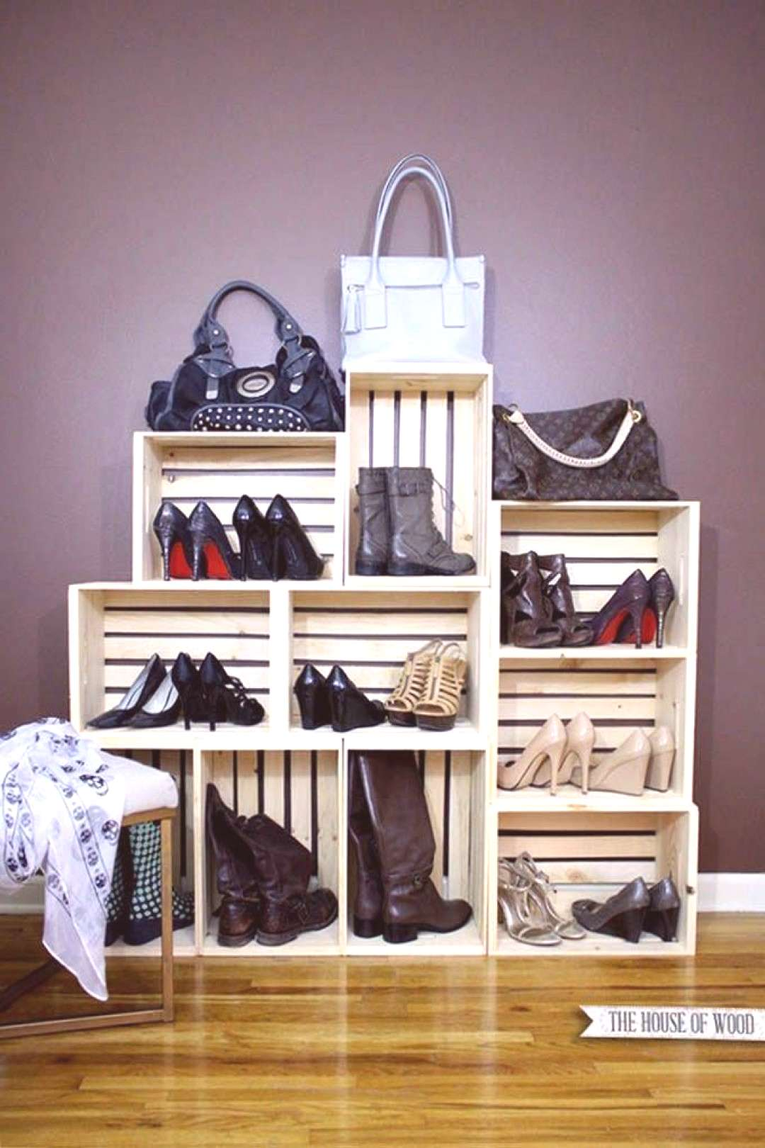 39 Simple Shoe Storage Ideas That Will Declutter Your Hallway   Posh Pennies