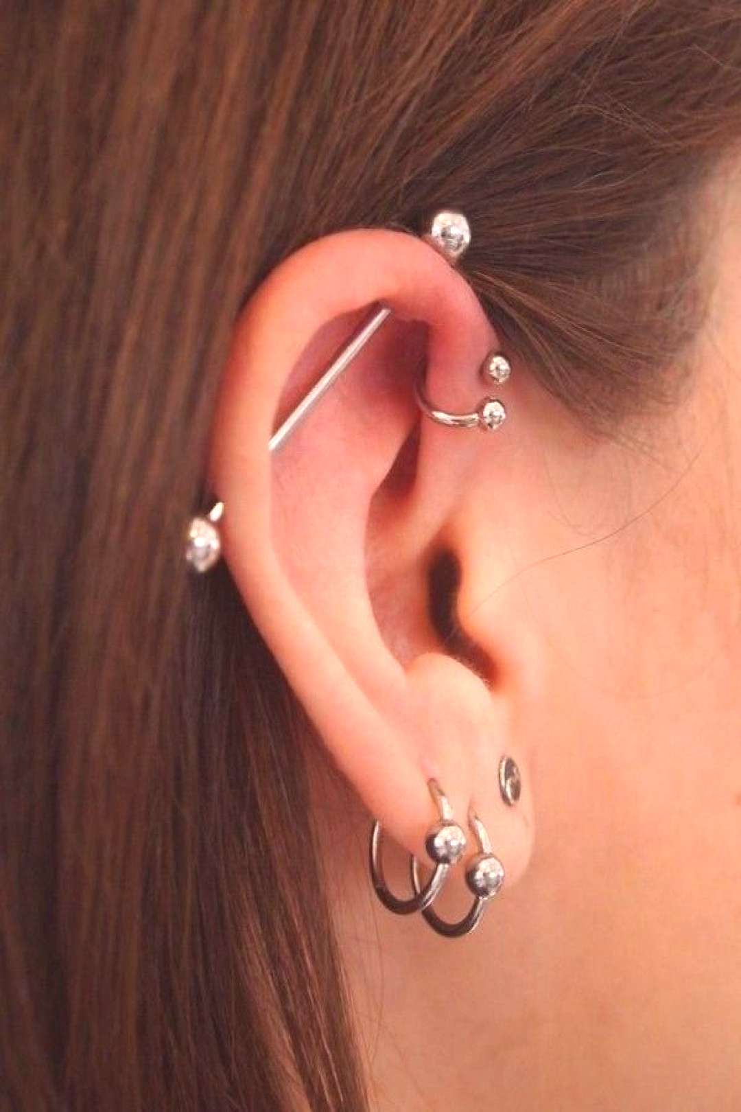 53+ Unique and Cool Ear Piercings Ideas [2019 -
