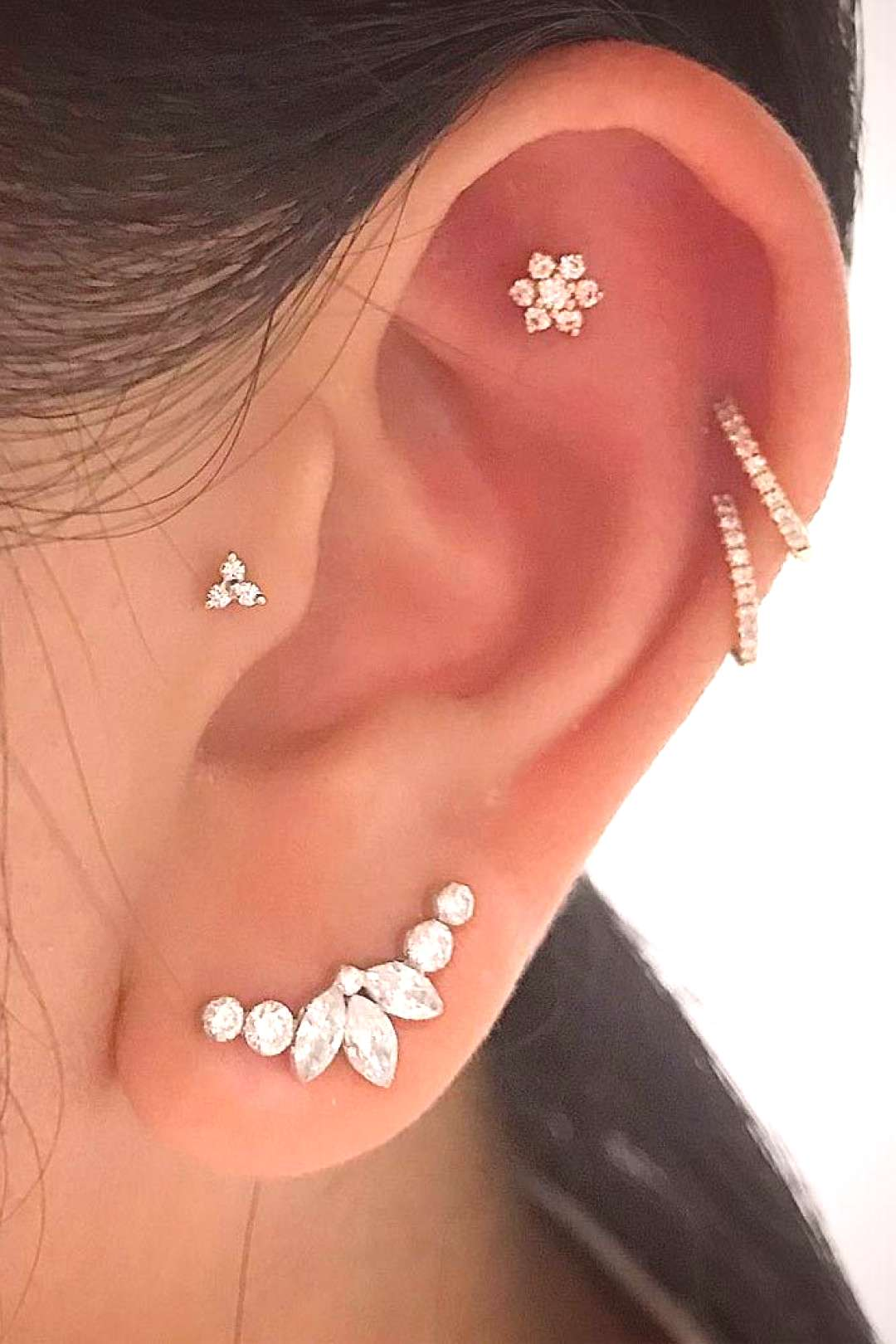 8 most popular types of ear piercings to consider ... - 8 most popular types of ear piercings to c