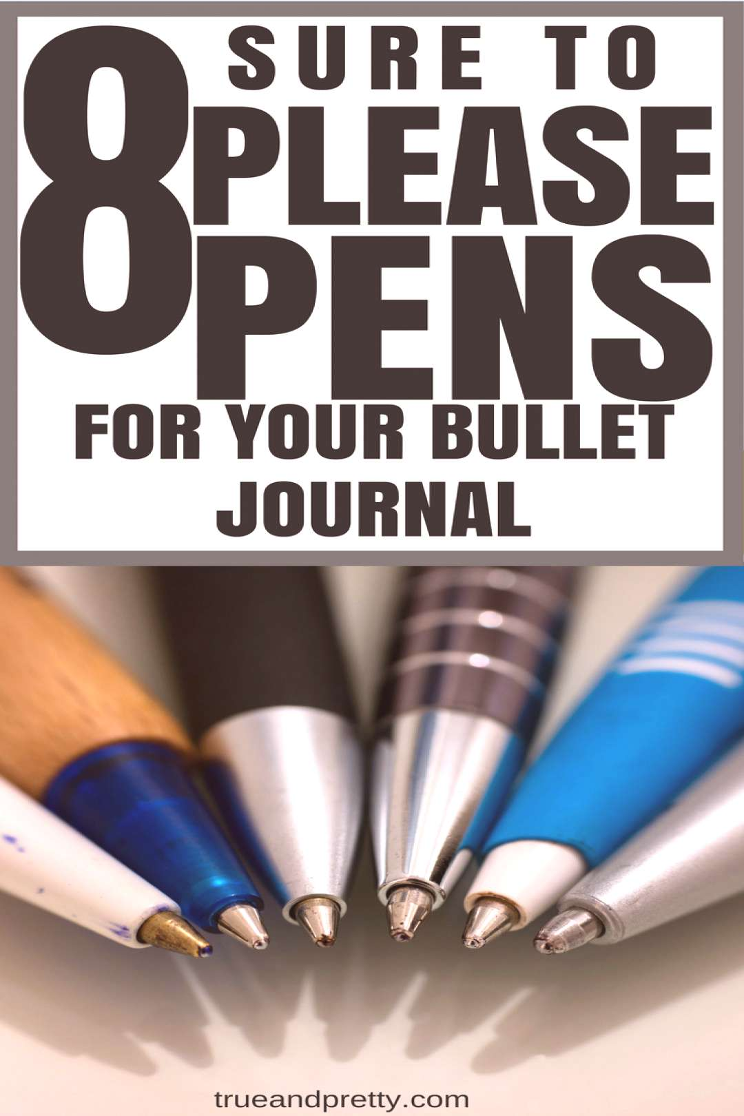 8 Sure-to-Please Pens for Your Bullet Journal -