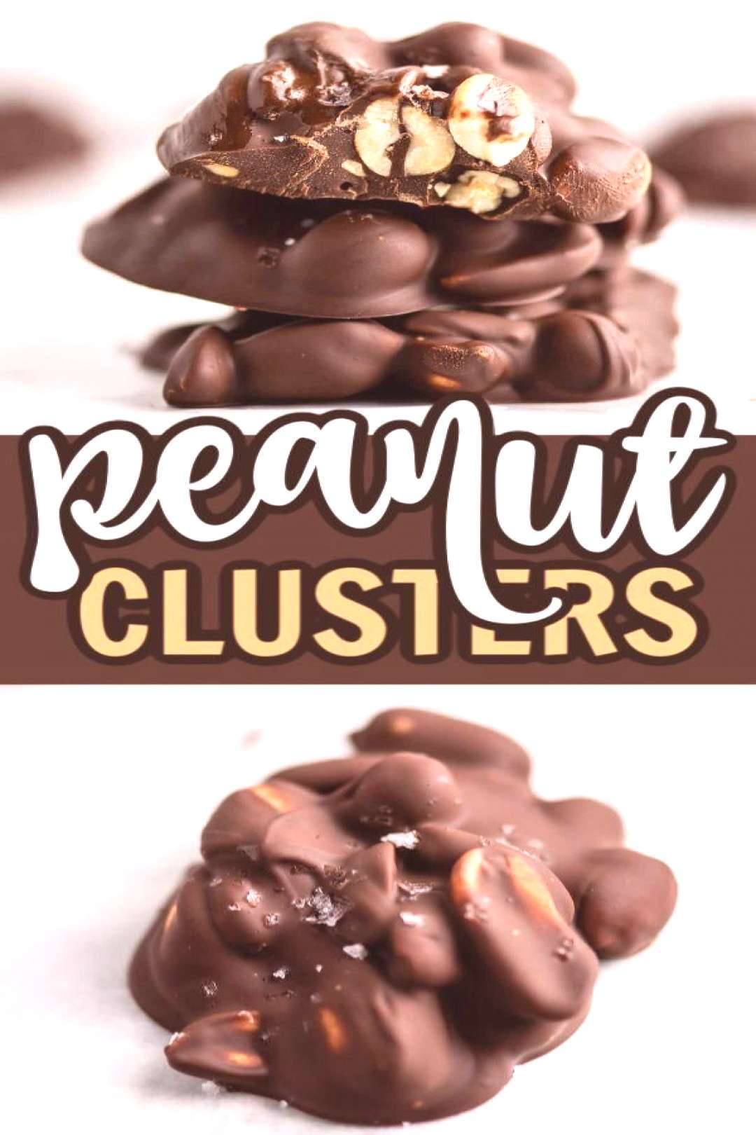 All you need is 3 ingredients to make this holiday favorite - peanut clusters! Naturally vegan, glu