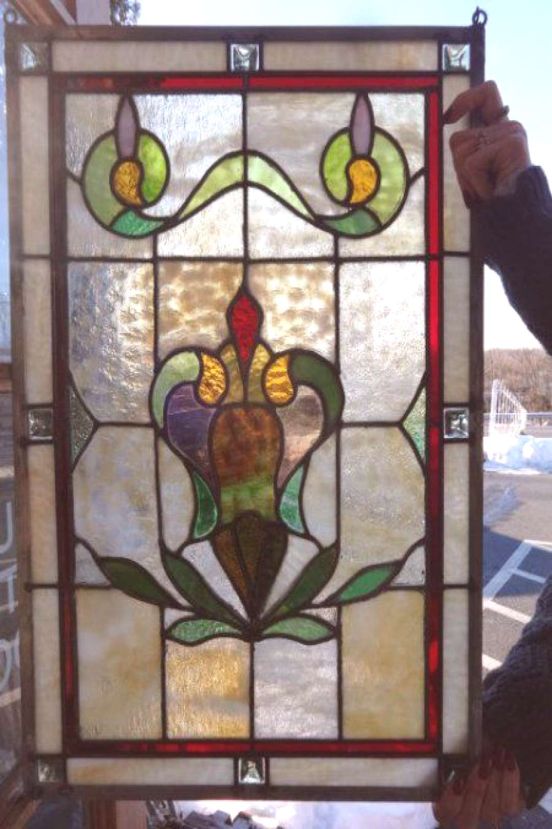 Antique Stained Glass Windows & Doors for Sale in Pennsylvania | Oley Valley Arc... -  Antique Stai