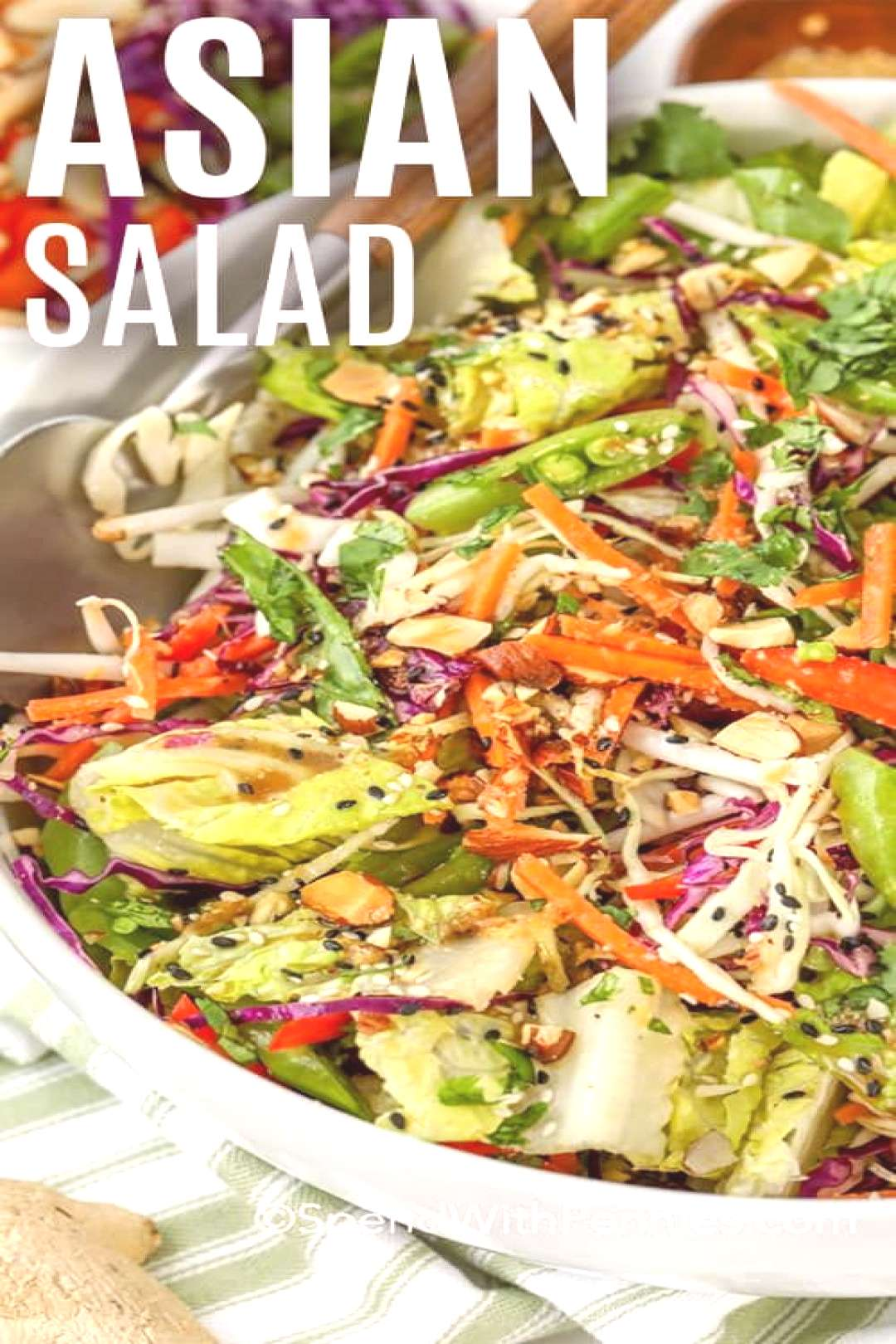 Asian Chopped Salad - Spend With Pennies
