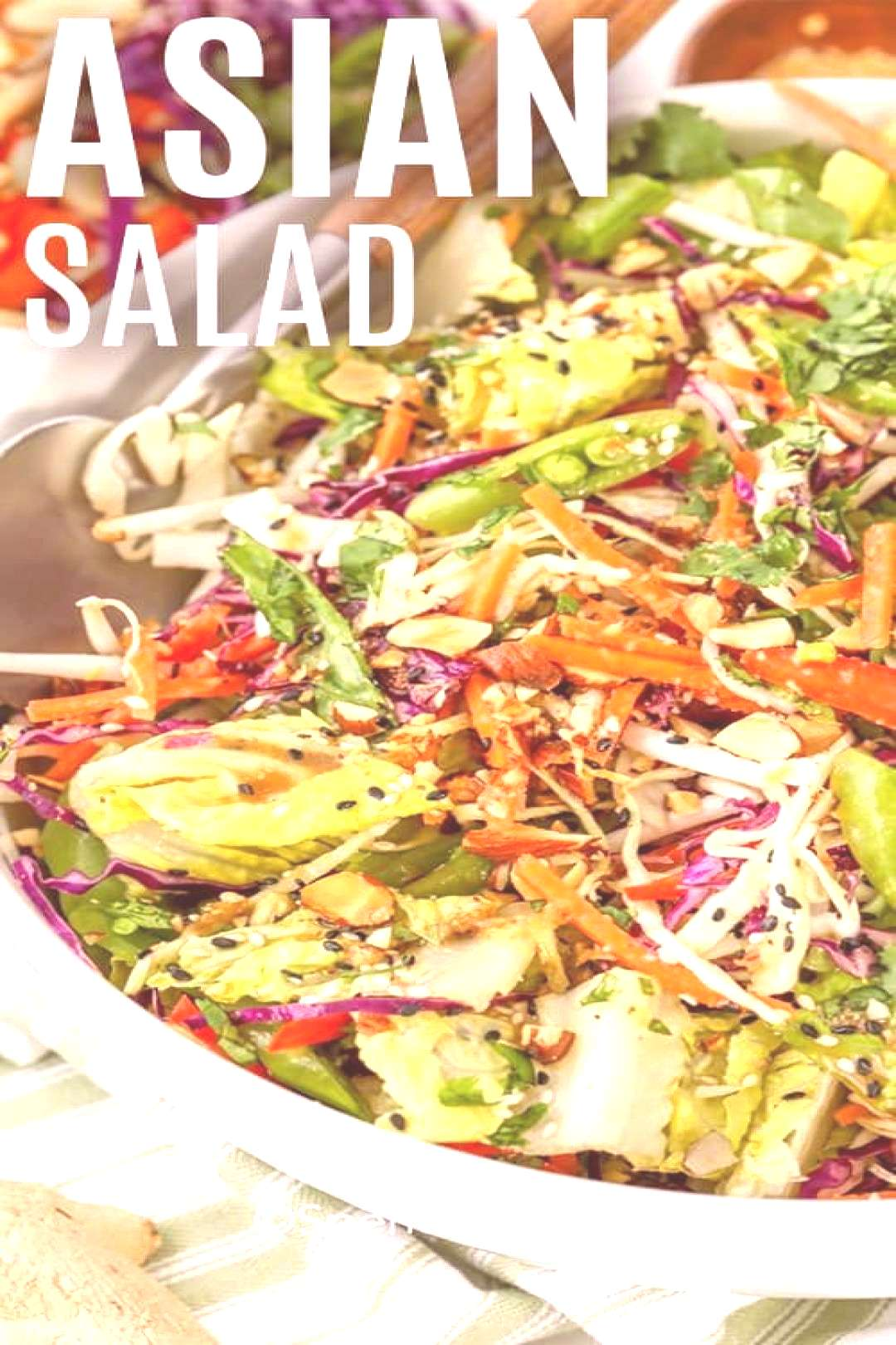 Asian Chopped Salad - Spend With PenniesYou can find Pennies and more on our website.Asian Chopped