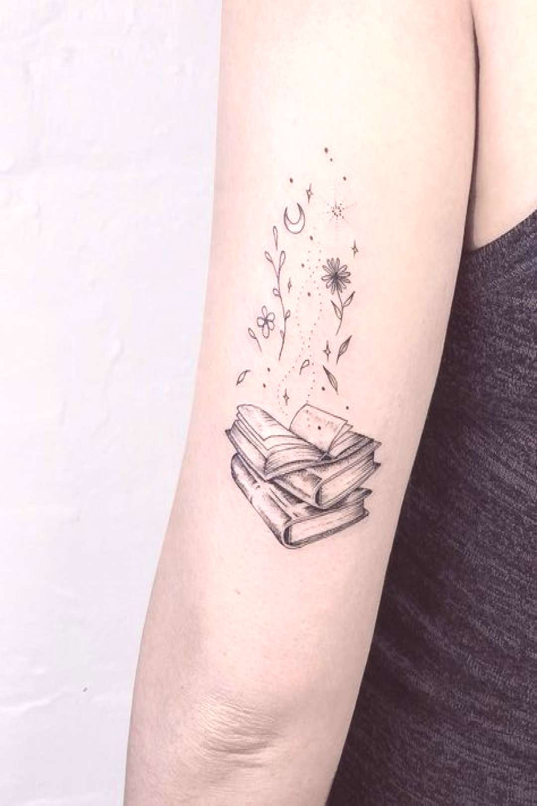 Awesome book tattoos for literature lovers - artists - Awesome book tattoos for literature lovers