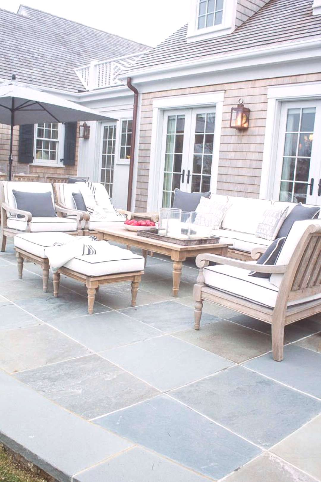 Back Patio with Teak Furniture HGTV Dream Home  You are in the right place about Outdoor Furniture
