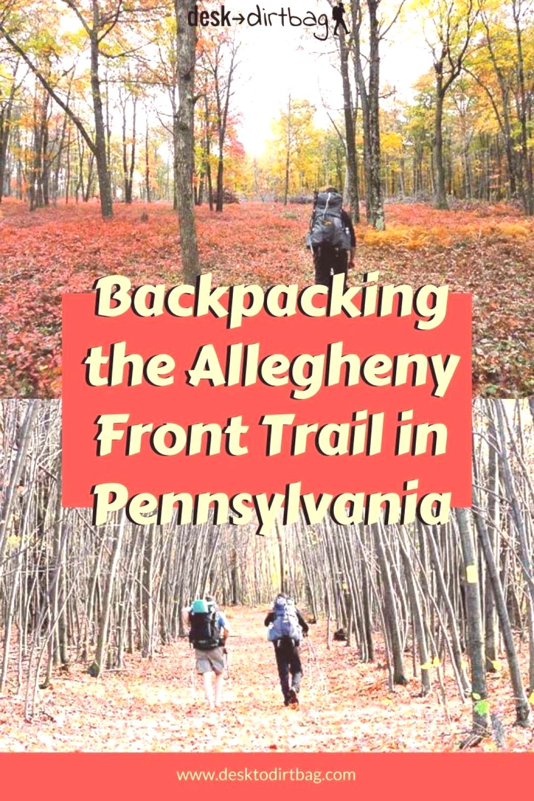 Backpacking the Allegheny Front Trail in Pennsylvania (42 miles) Backpacking the Allegheny Front Tr