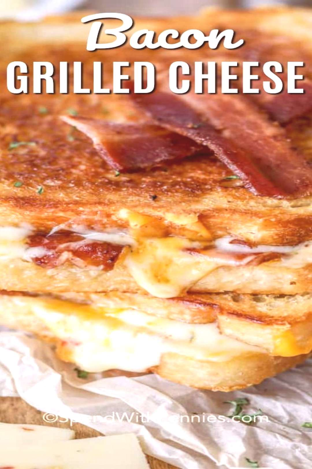 Bacon Grilled Cheese - Spend With Pennies -