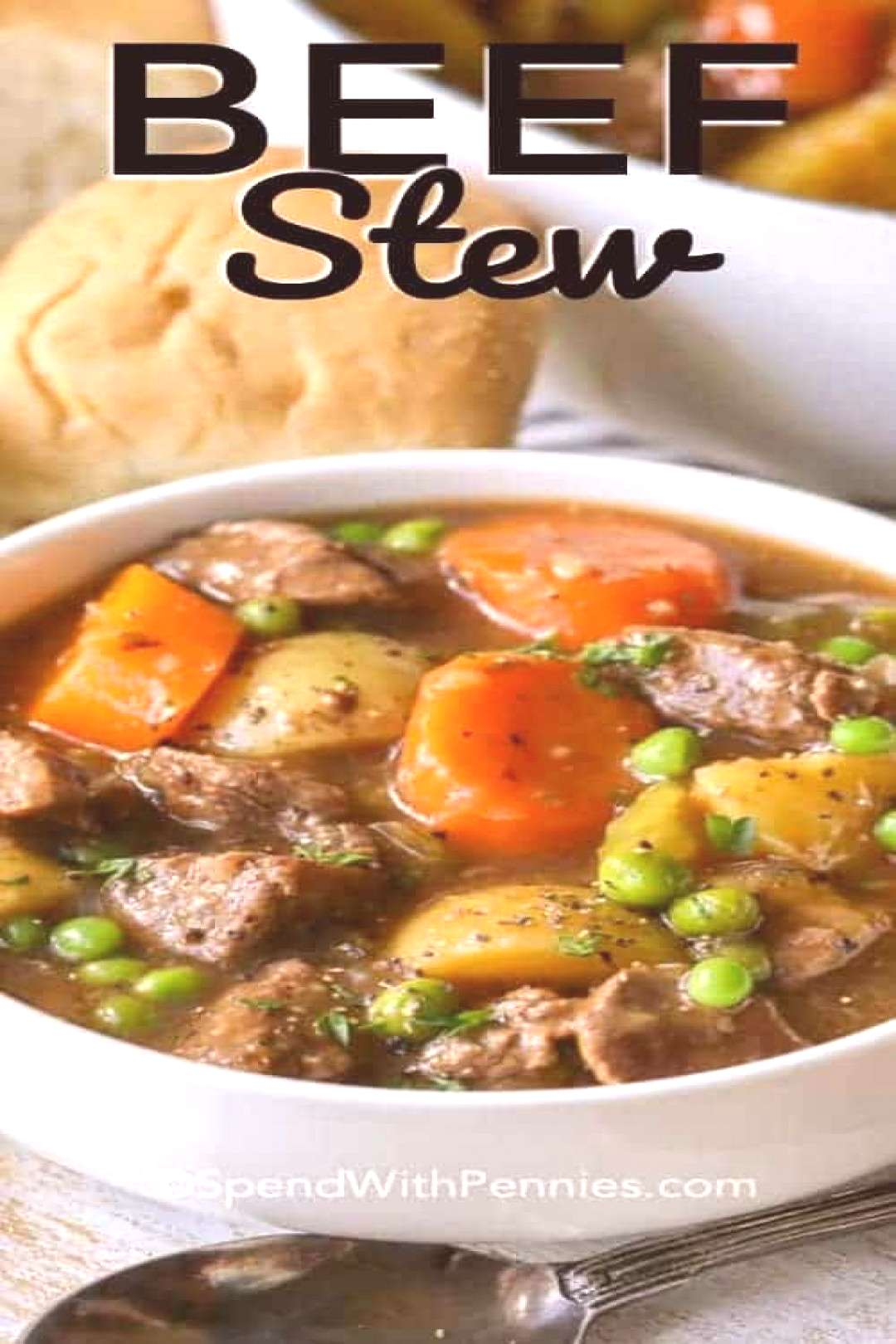 Beef Stew Recipe Homemade amp Flavorful - Spend With Pennies - Hamburger meat recipes -