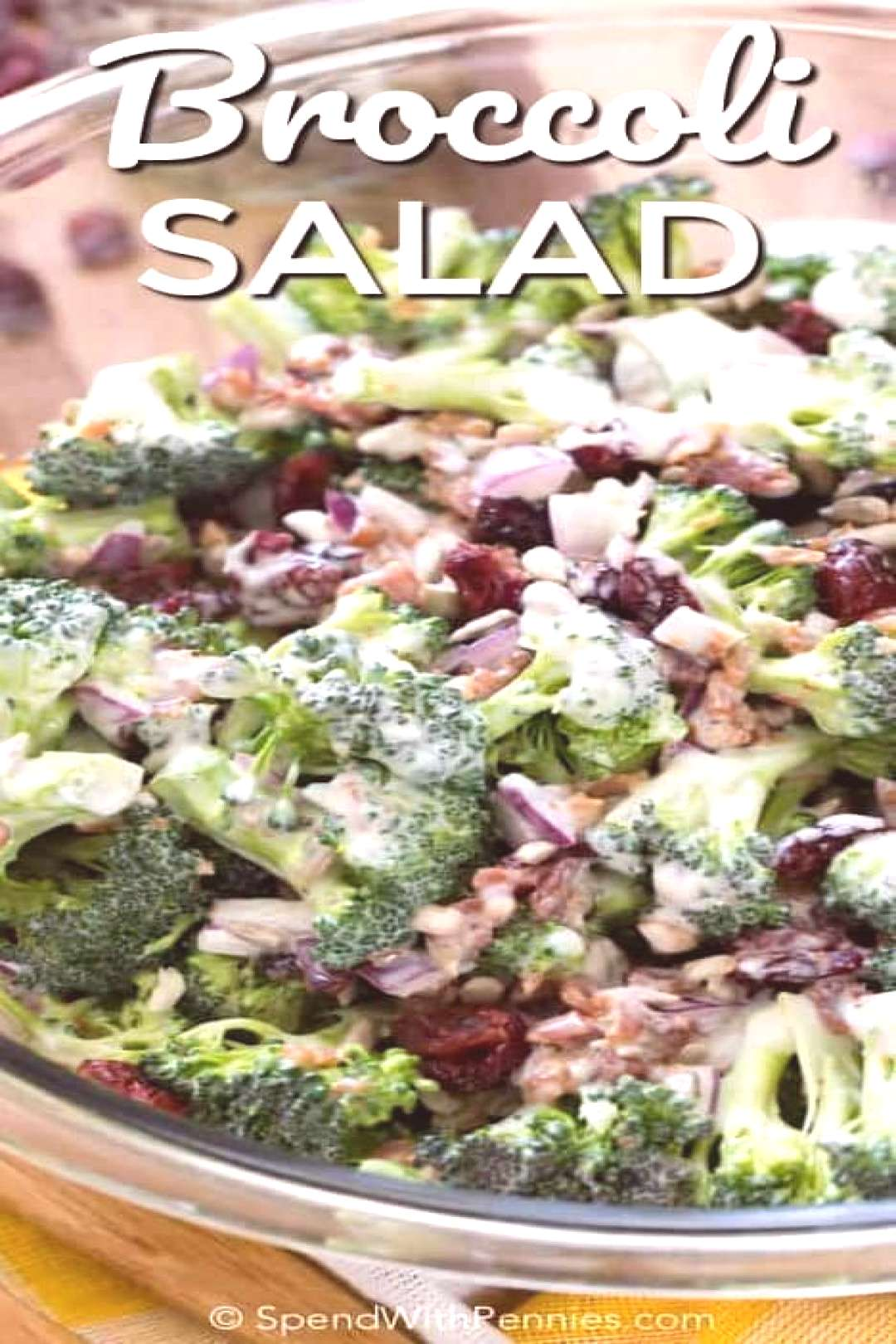 Broccoli Salad - Spend With Pennies - -