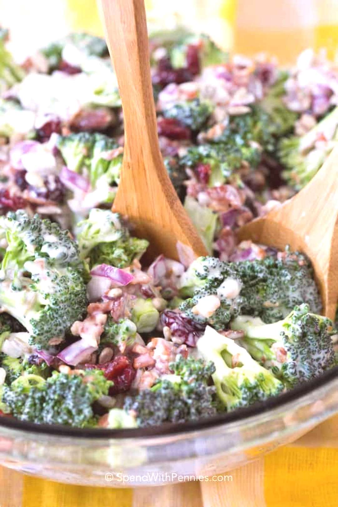 Broccoli Salad - Spend With Pennies,Broccoli Salad can be made in advance and kept in the fri... Br
