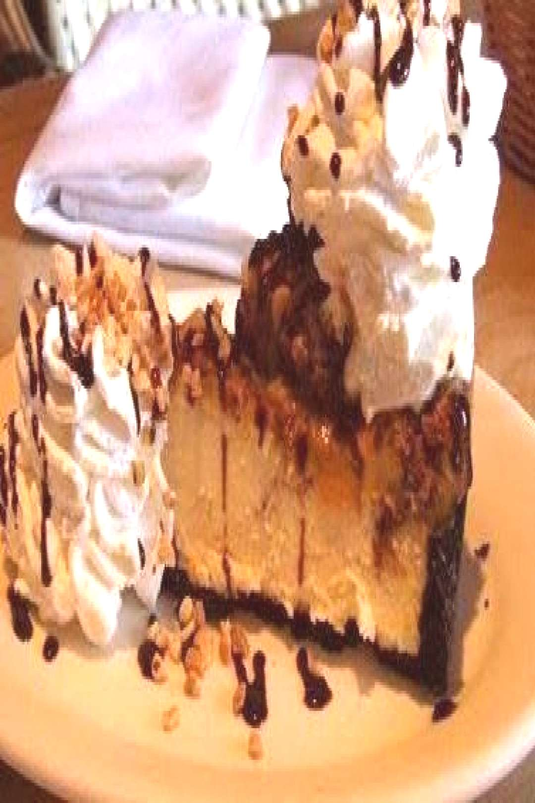Cheesecake Factory Snickers Cheesecake