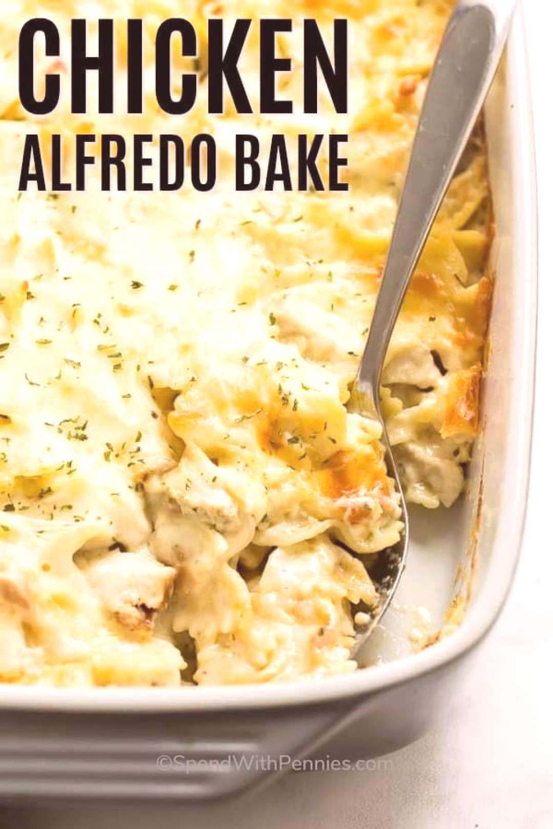 Chicken Alfredo Bake Great Freezer Dish! - Spend with Pennies - -