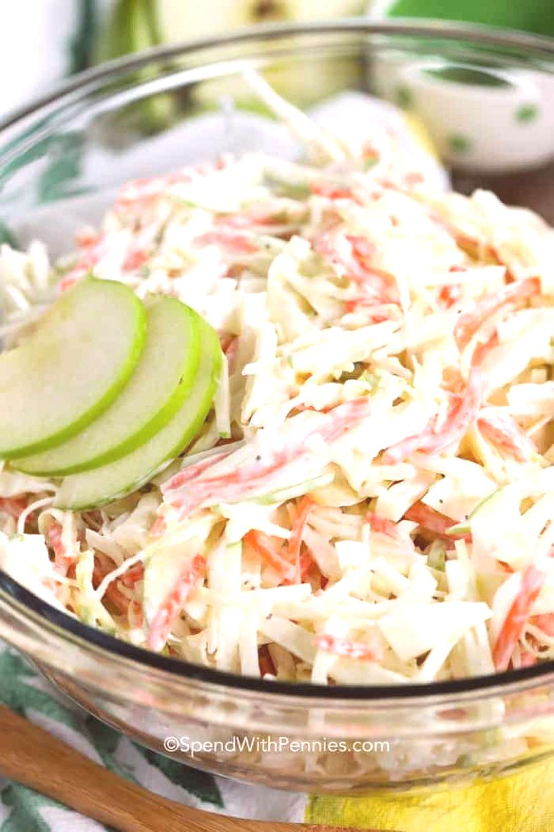 Creamy Apple Slaw Recipe - Spend With Pennies Creamy Apple Slaw Recipe - Spend With Pennies,