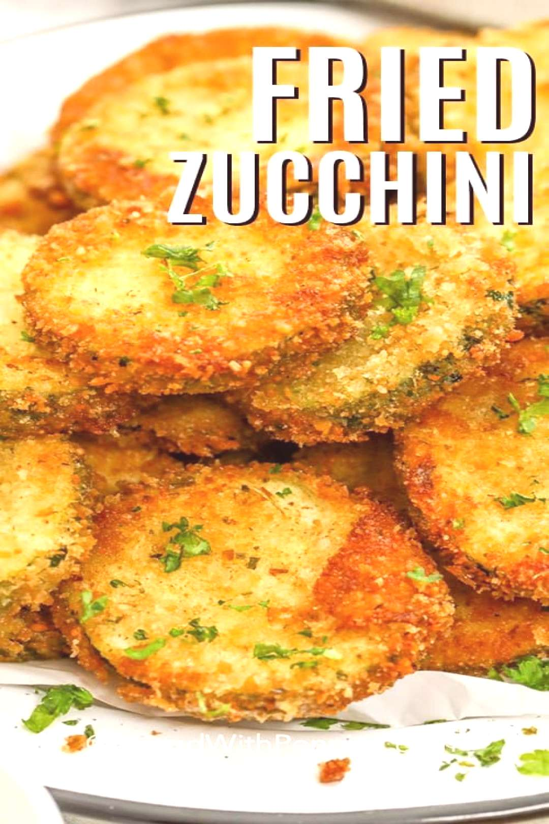 Crispy Fried Zucchini - Spend With Pennies - -