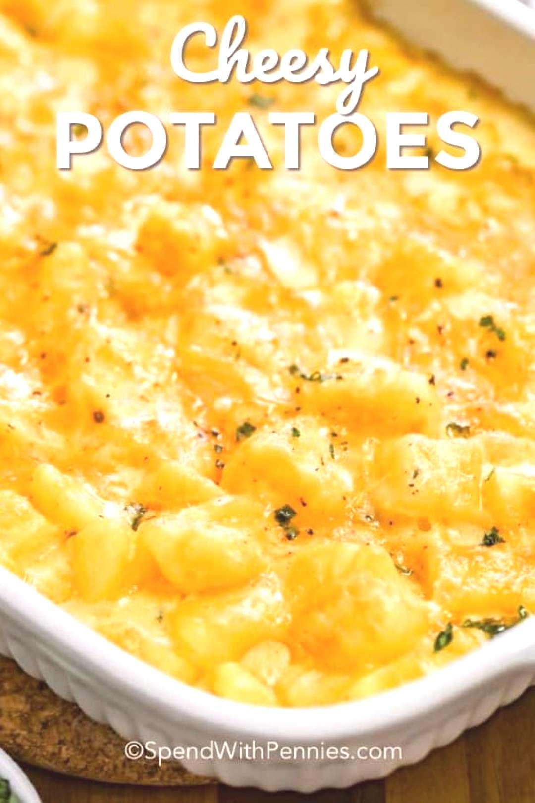 Easy Cheesy Potatoes - Spend With Pennies -