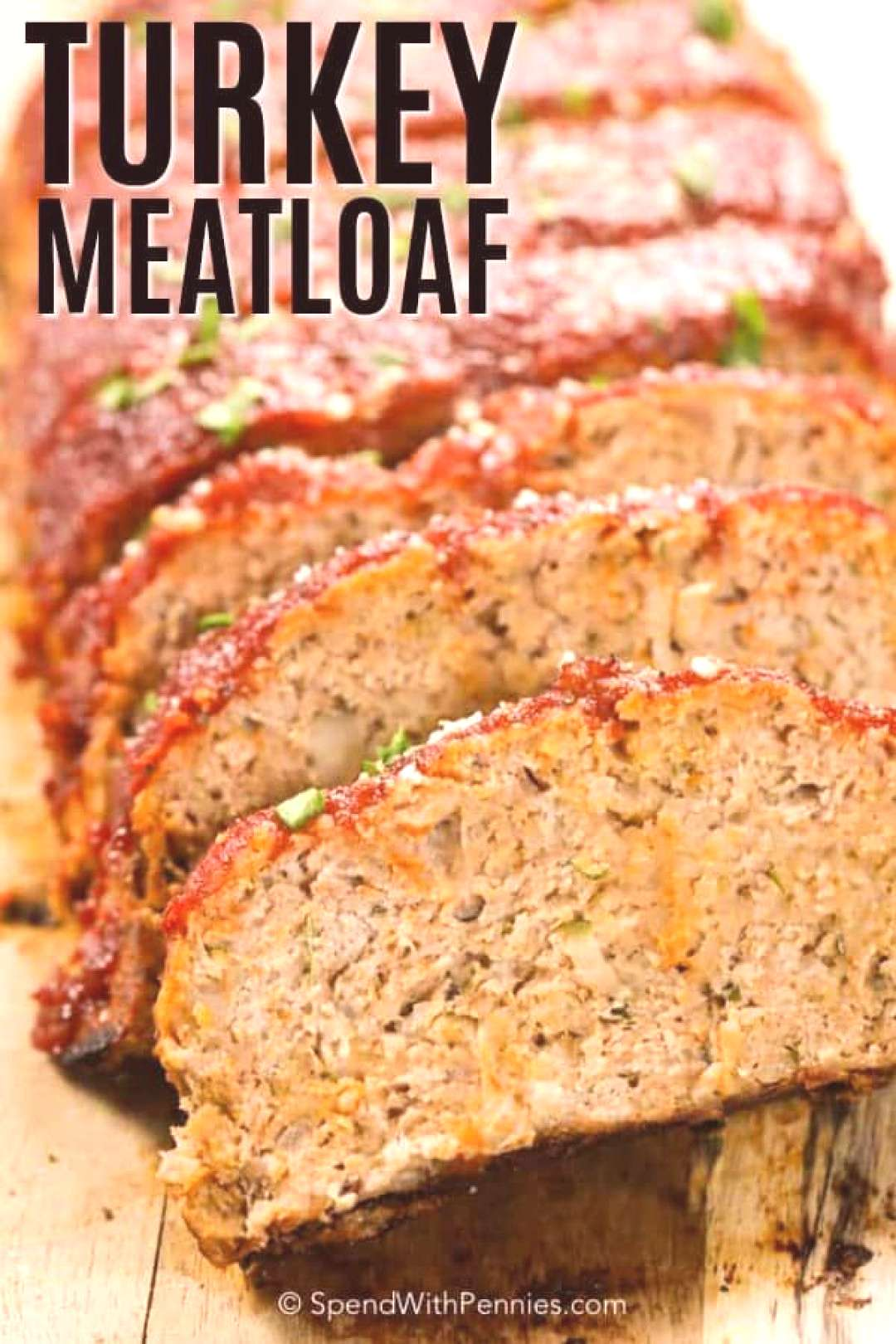 Easy Turkey Meatloaf {Moist} - Spend with Pennies -  This Turkey meatloaf recipe is moist and tende