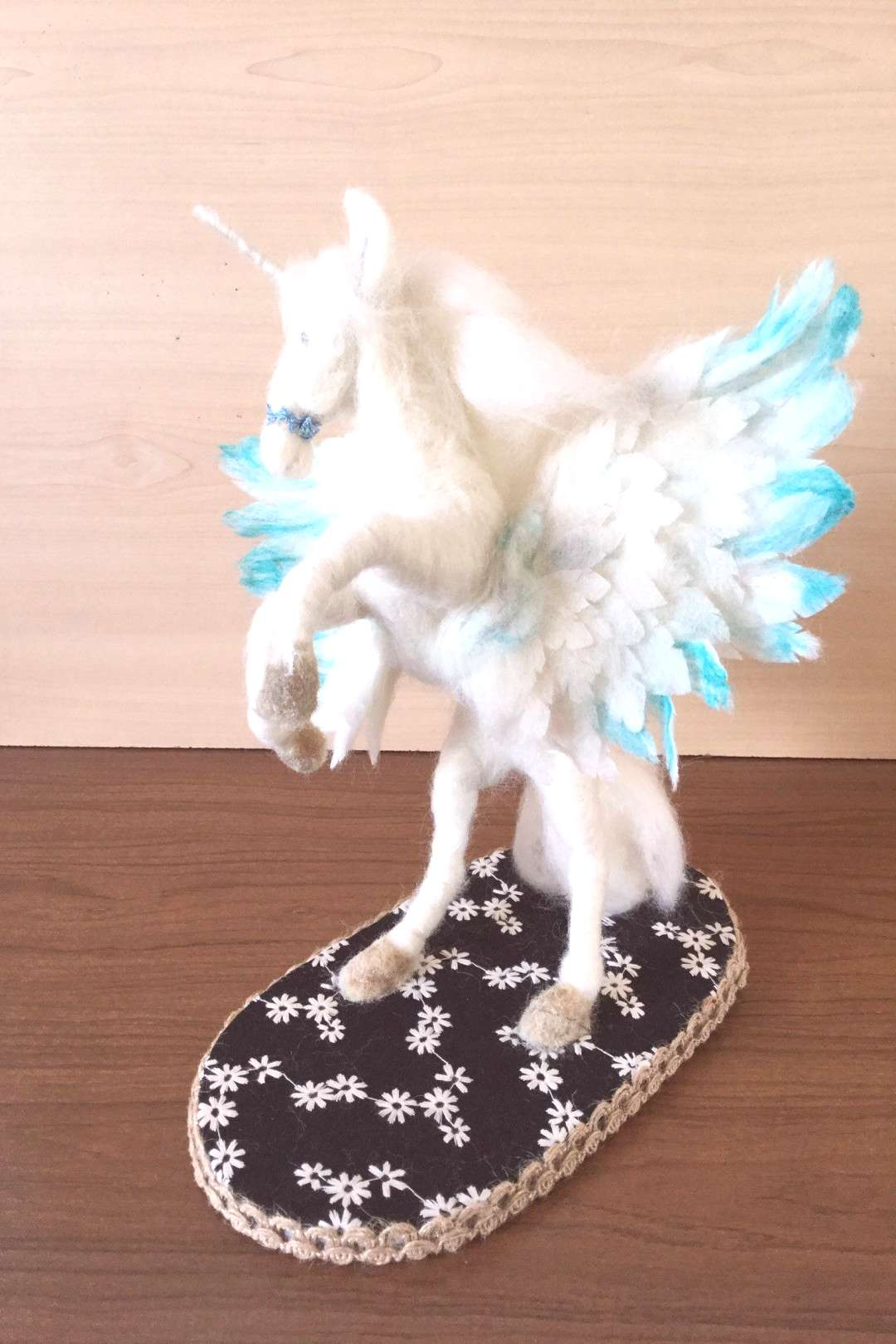 Excited to share this item from my shop Unicorn, felted winged unicorn, felted unicorn, pegasus, a