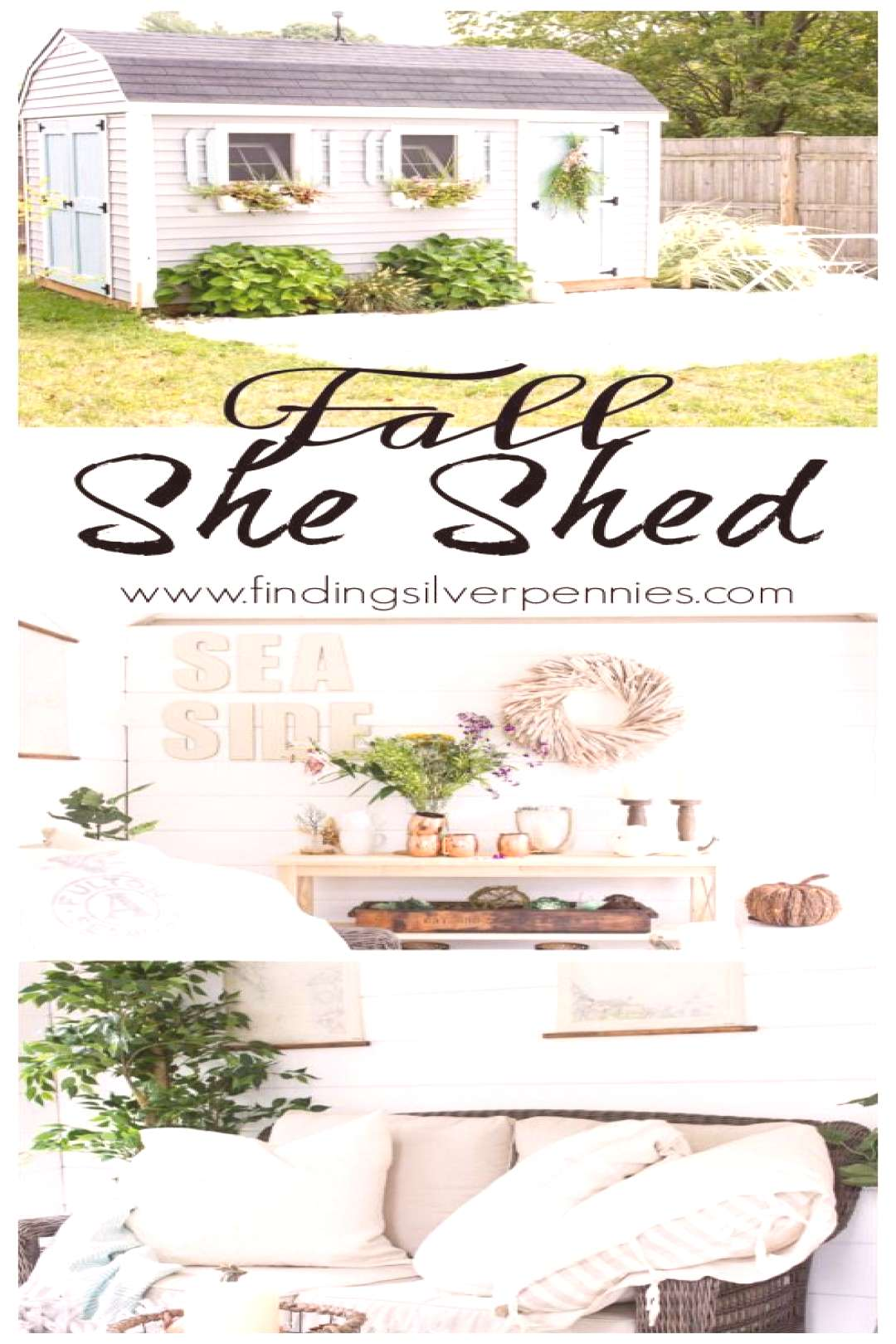 Fall in the She Shed I Finding Silver Pennies I /1sLFbXl - wsqu Fall in the She Shed I Finding Silv