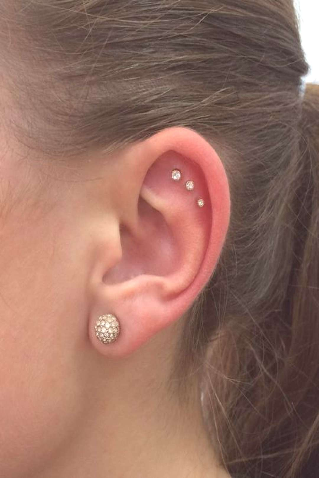 Found a new piercing I want to get now Triple outer conch. - Found a new piercing I want to get n