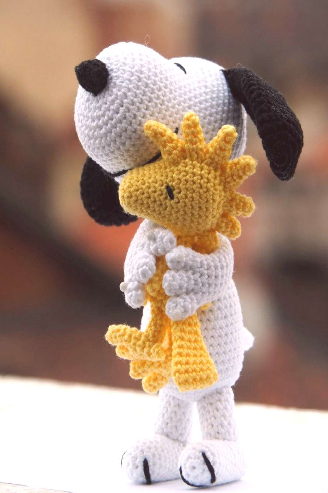 FREE AMIGURUMI PATTERN: Woodstock from Peanuts -