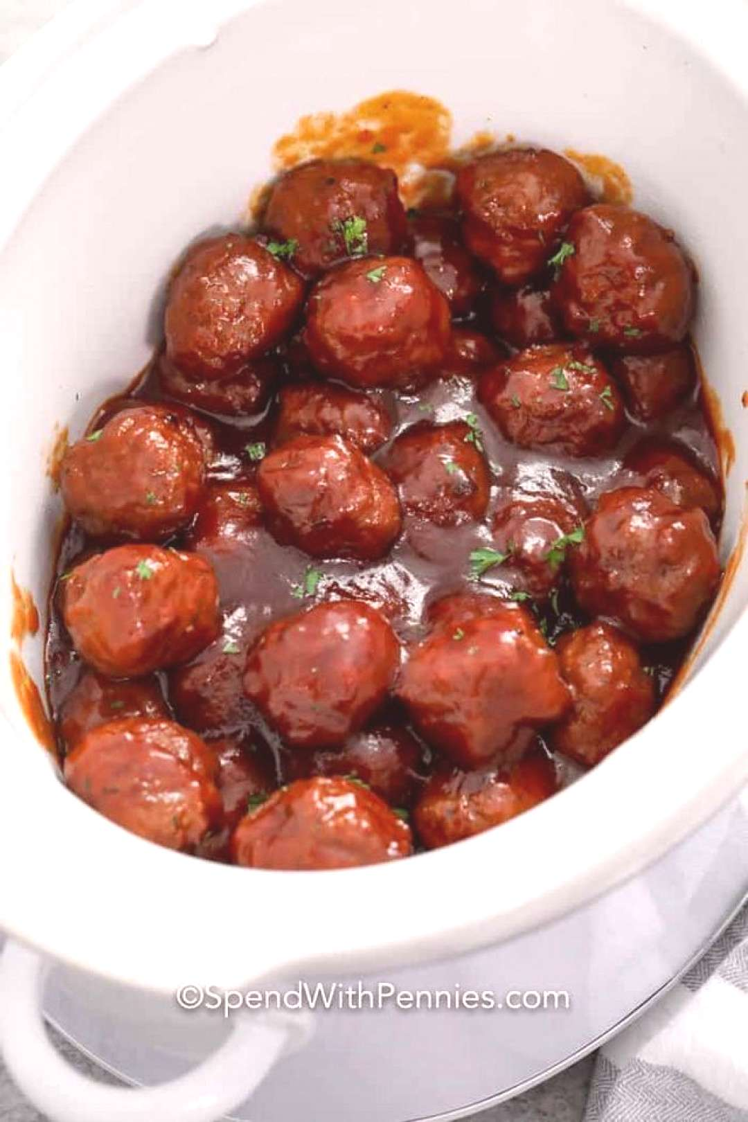 Grape Jelly Meatballs {3 Ingredients!} - Spend With Pennies,  Grape Jelly Meatballs {3 Ingredients!