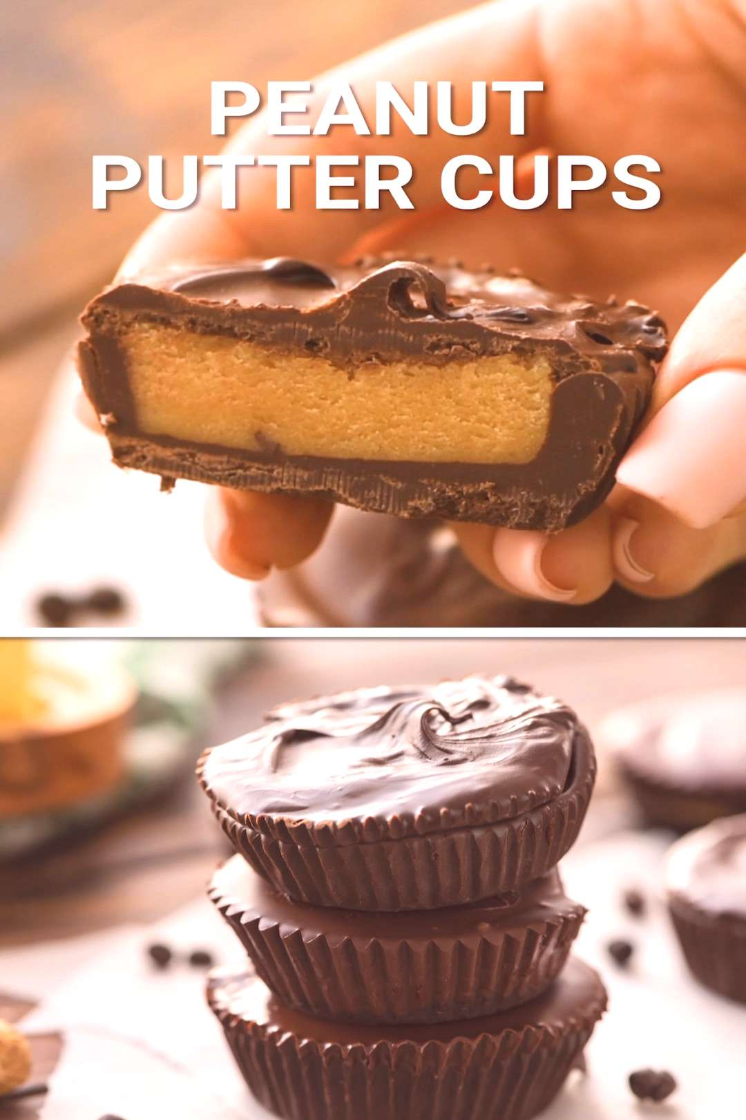 Homemade Peanut Butter Cups Quick and easy no-bake Peanut Butter Cups are the perfect candy to make