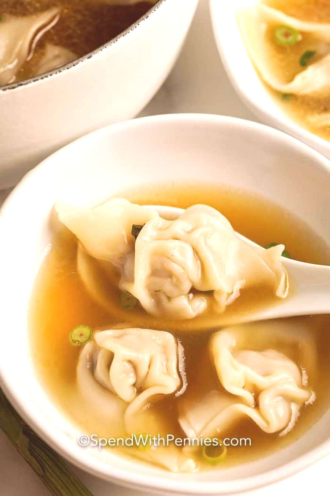 Homemade Wonton Soup & Wontons! - Spend With Pennies Homemade Wonton Soup & Wontons! - Spend With P