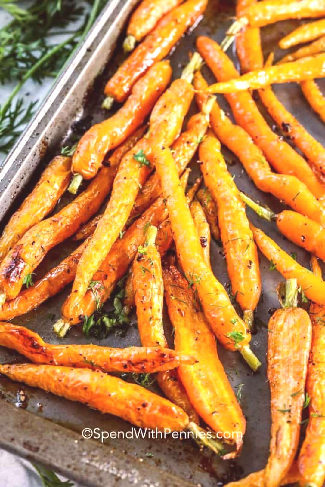 Honey Roasted Carrots - Spend With Pennies - Honey Roasted Carrots – Spend With Pennies -