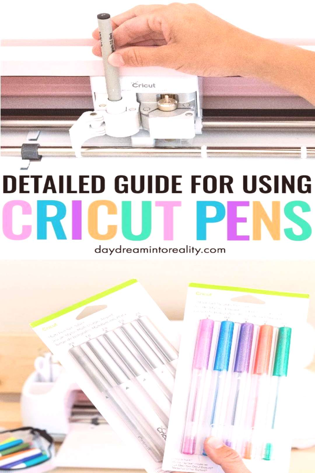 How to Use Cricut Pens with your Cricut – Draw/Write#cricut