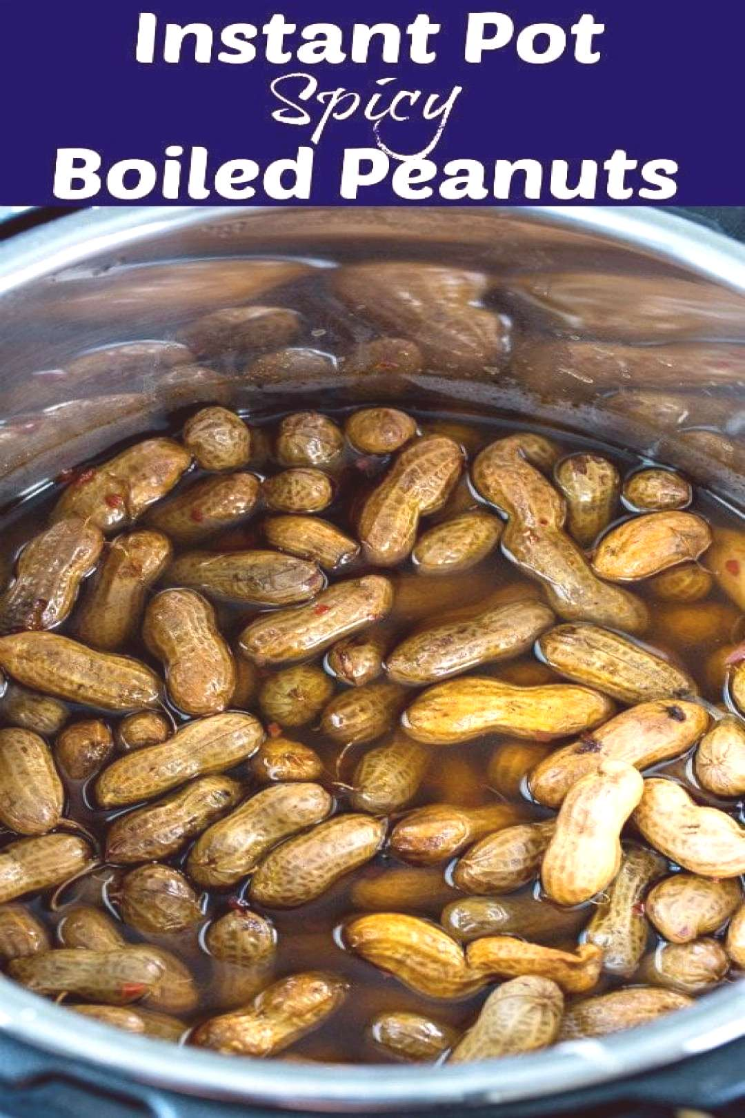 Instant Pot Spicy Boiled Peanuts -