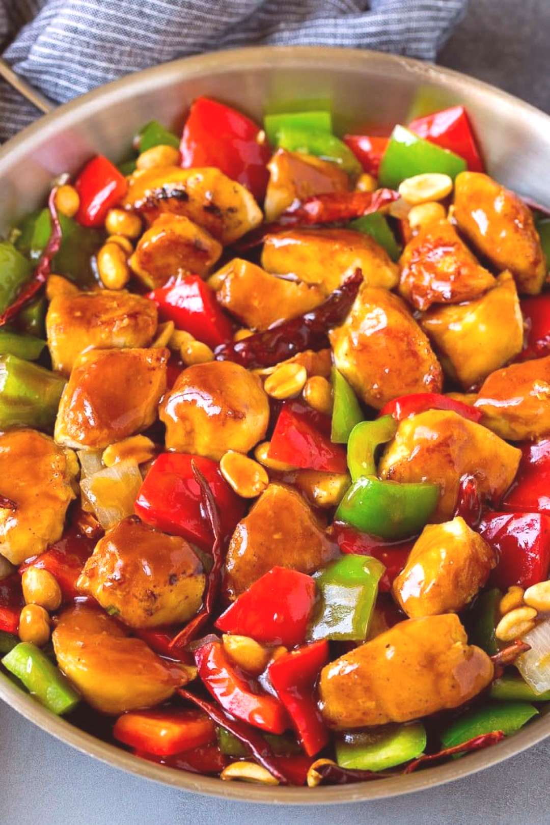 Kung Pao Chicken Recipe | Chicken Stir Fry