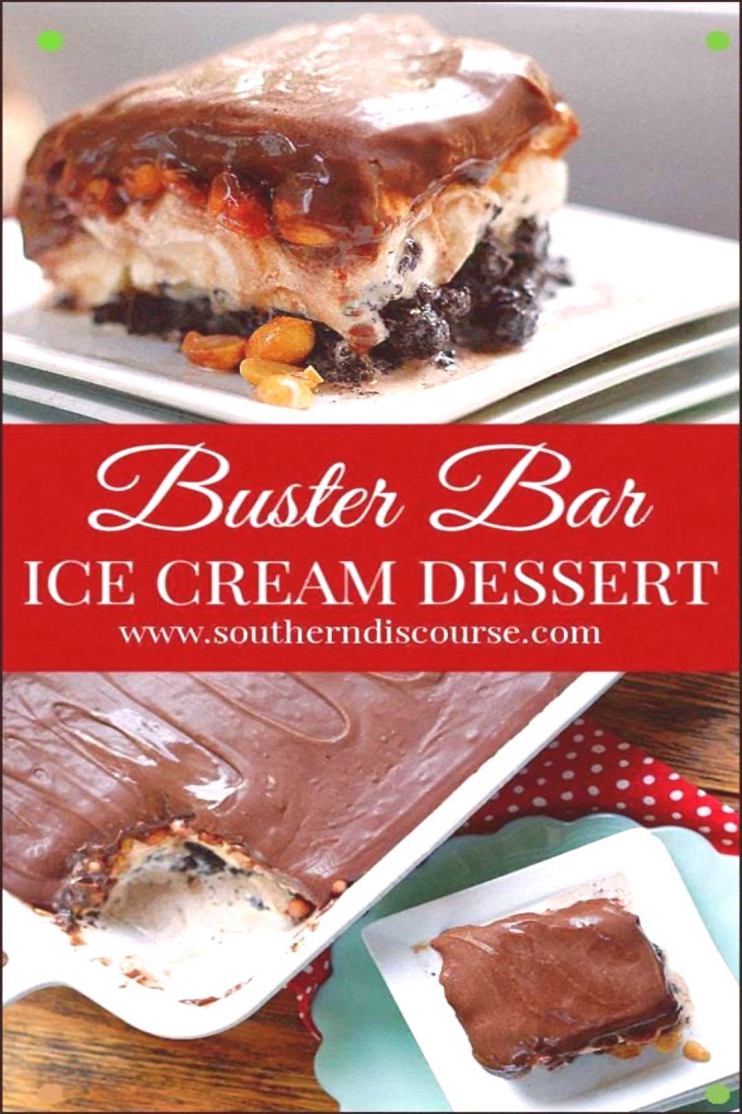 Loaded With Salted Peanuts And Layer Of Vanilla Ice Cream On An Easy Homemade Oreo Crust And Topped