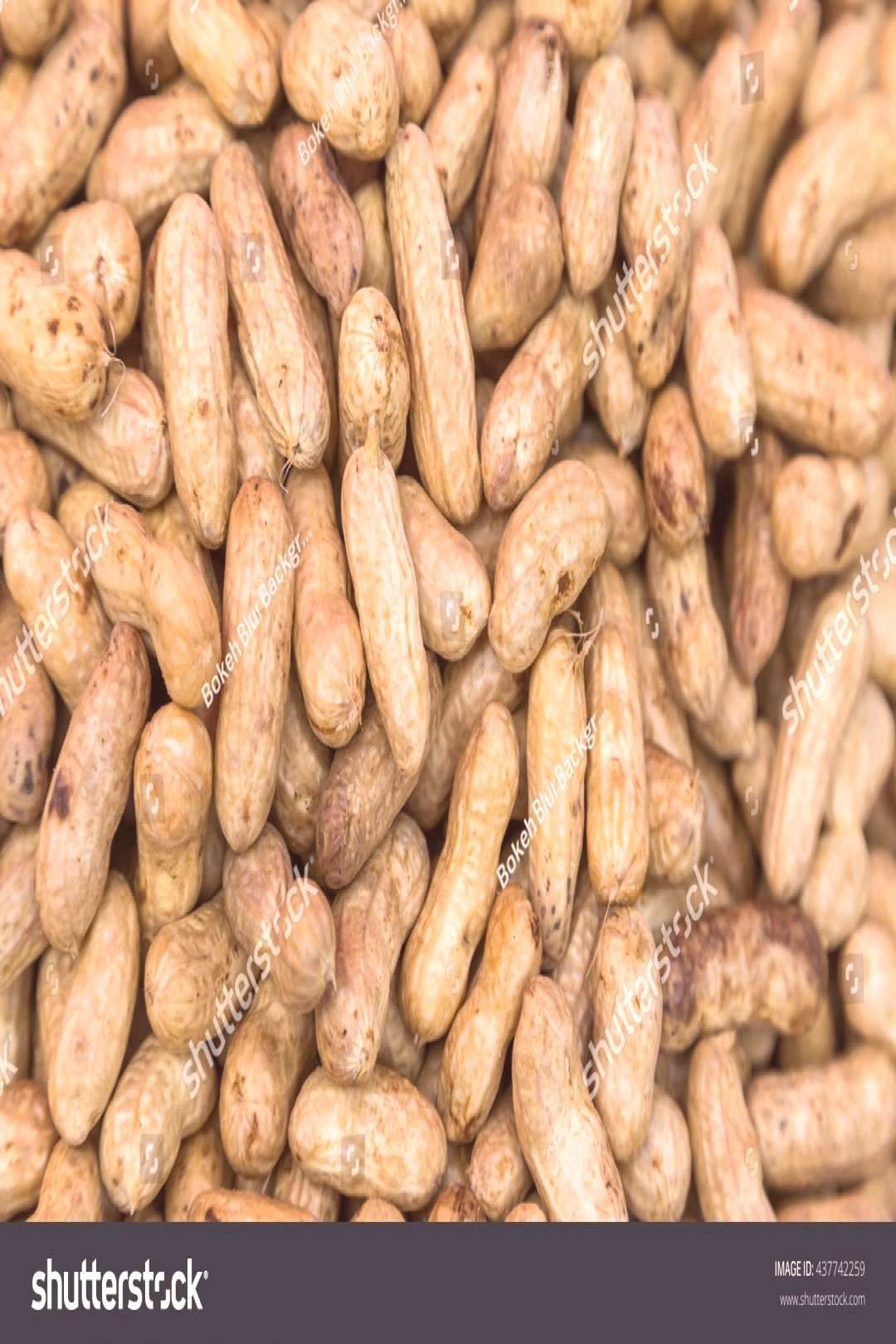 Many peanuts in shells use for backgound ,