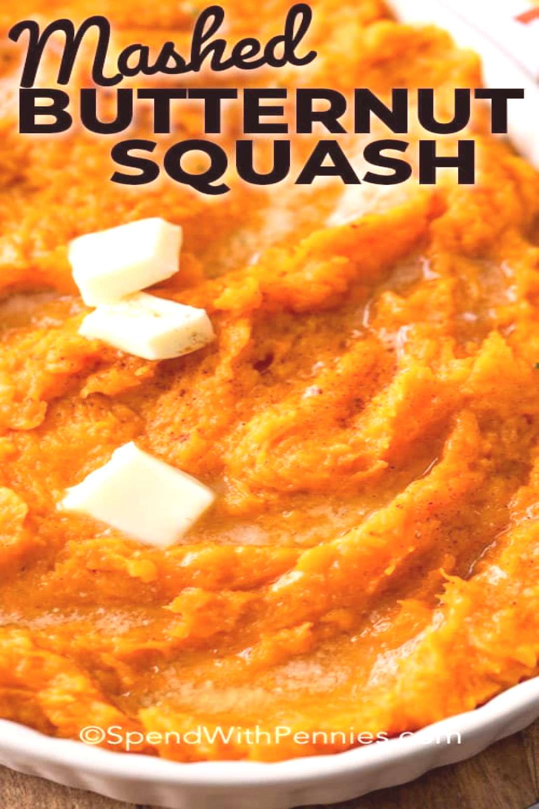 Mashed Butternut Squash - Spend With Pennies  -